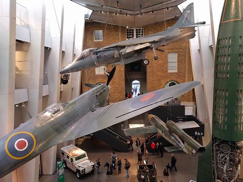 war planes @ Imperial War Museum