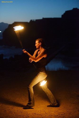 Cliff Fire Dance