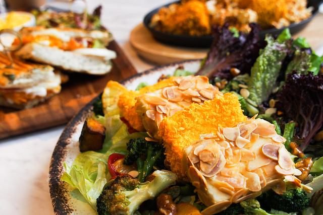 舒果(復北店)|蔬食新體驗/不一樣的素食饗宴