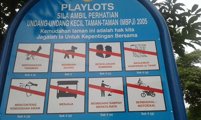 PJ playground rules 1