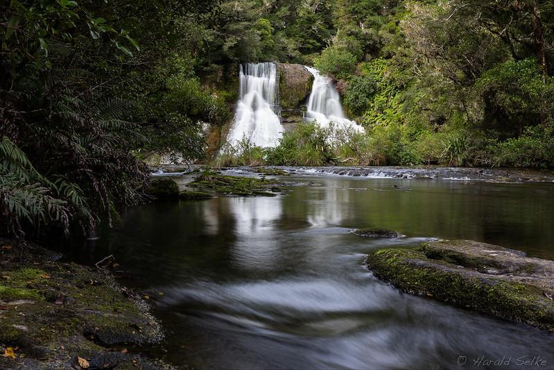 Aniwaniwa Falls with Whio