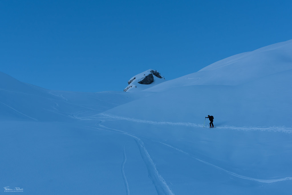 Ski de randonnée à la Tournette
