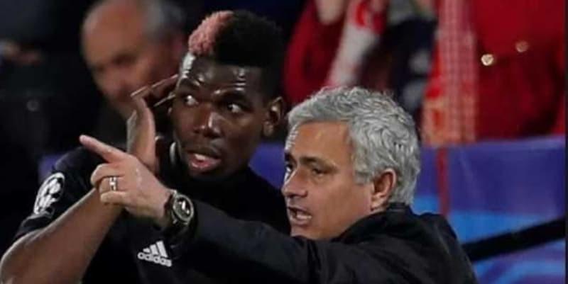 Berselisih, Jose Mourinho Ingin Paul Pogba Ikuti Cara Pemain Muda