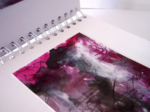 magenta abstract 11