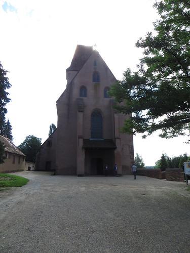 20140804 02 080 Jakobus Kloster Walburga Kirche Fassade