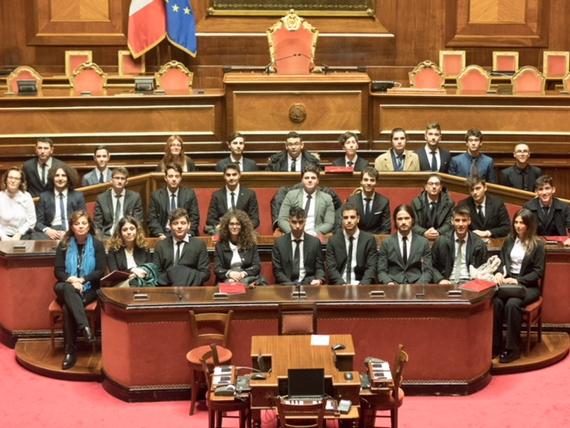 un giorno in senato