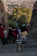 The quick way out of Swayambhunath, Kathmandu, Nepal.