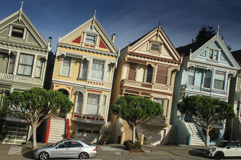 Un Barrio De Casas De Muñecas En San Francisco Painted Ladies Haight Ashbury Viajes 101lugaresincreibles
