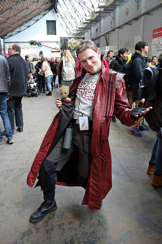 Maarten as Star-Lord