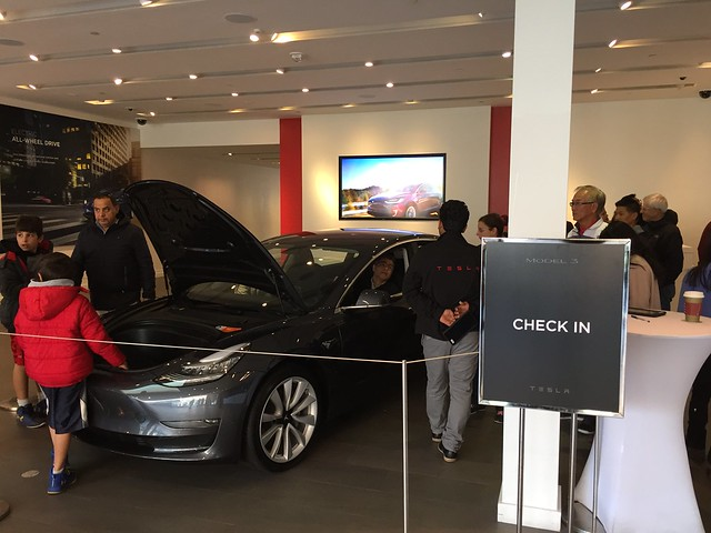Tesla Model 3 still in hype