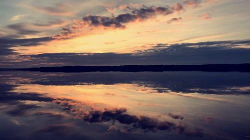 Brise sur le lac de Soustons