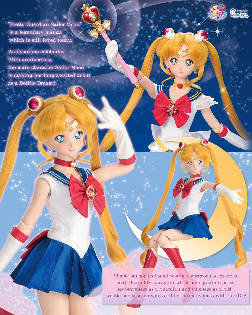 DDS Sailor Moon at Volks USA!