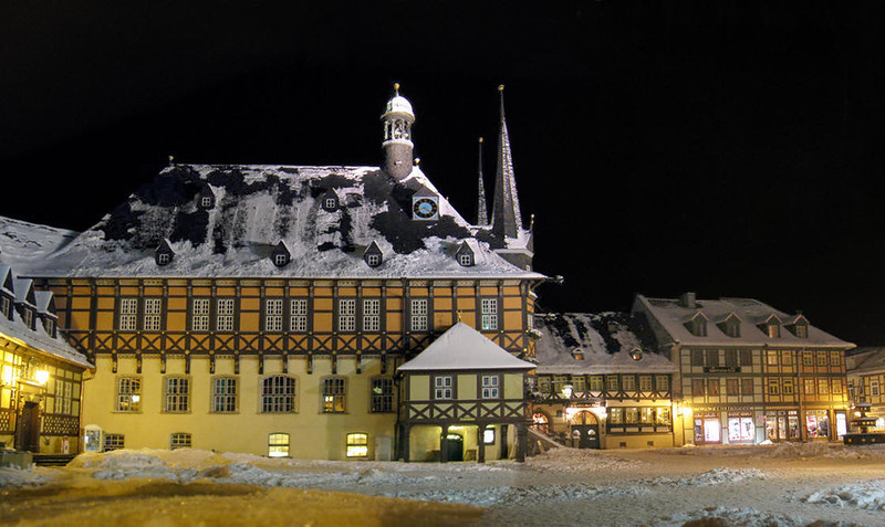 Wernigerode Town Hall. Credit Misburg3014