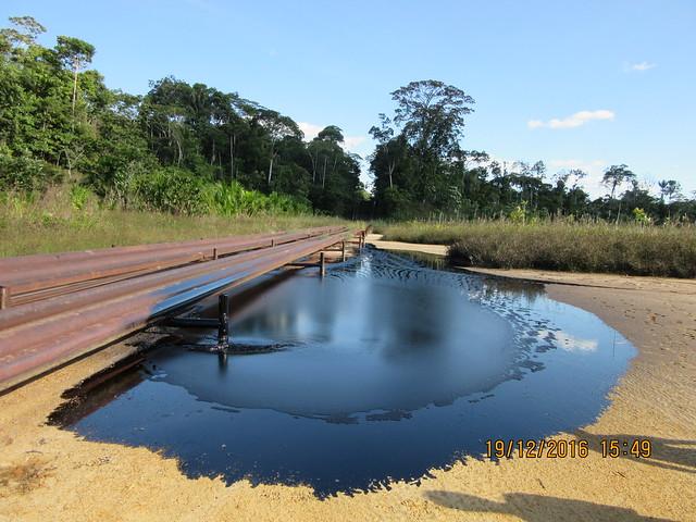 Contaminación Amazonas