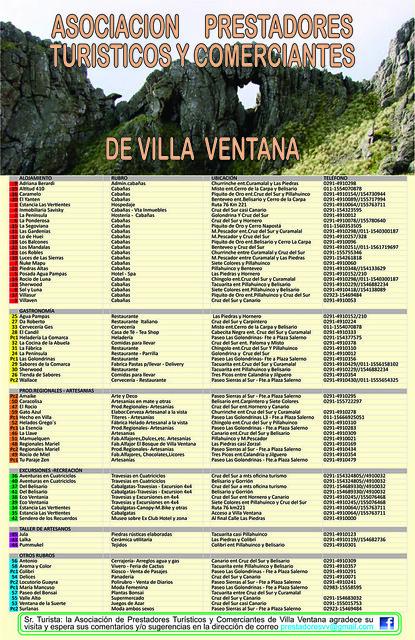 Villa Mapa dorso