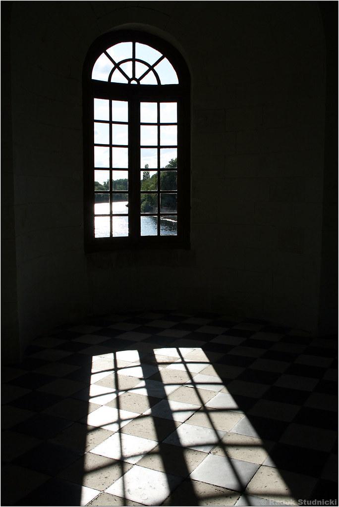 Okno w Chenonceau
