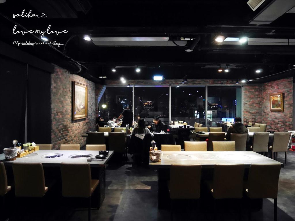 台北東區夜景景觀餐廳燒烤烤肉推薦好客燒烤忠孝店 (2)
