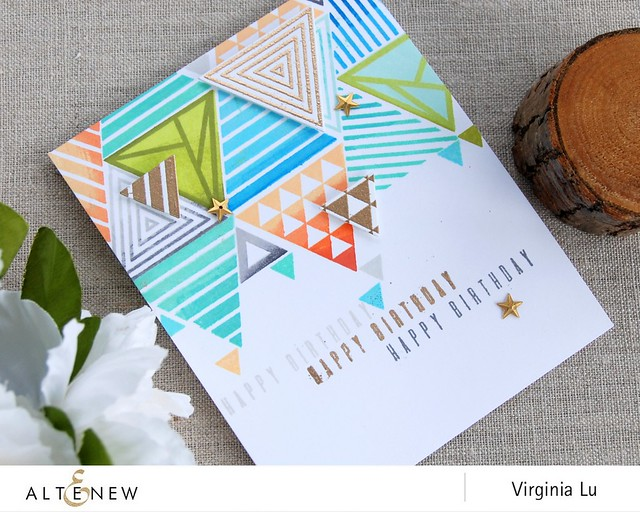 Altenew_TrigonometryStampDie_Virginia #3