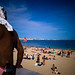 Man at beach, Cascais, Portugal by Sniper1999