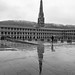 A wet February Saturday in the Piece Hall