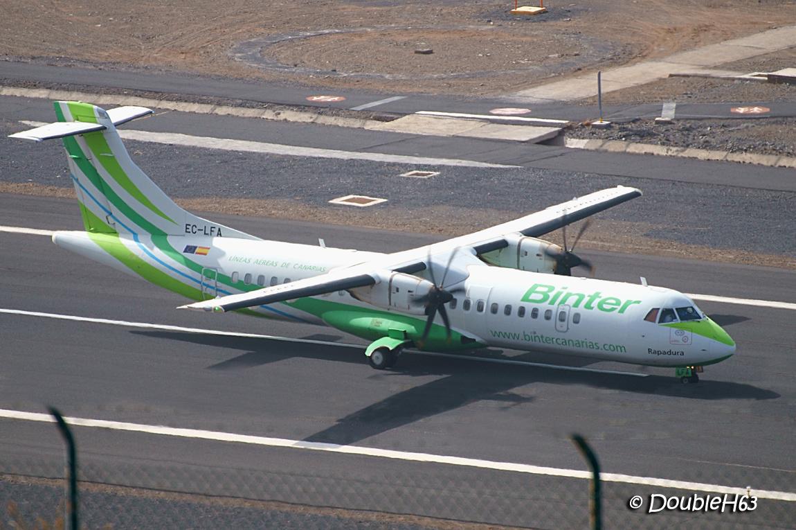 EC-LFA ATR72 Binter GMZ