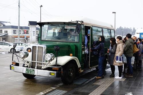 銀山溫泉巴士