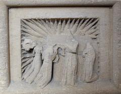 seven sacrament font: Mass