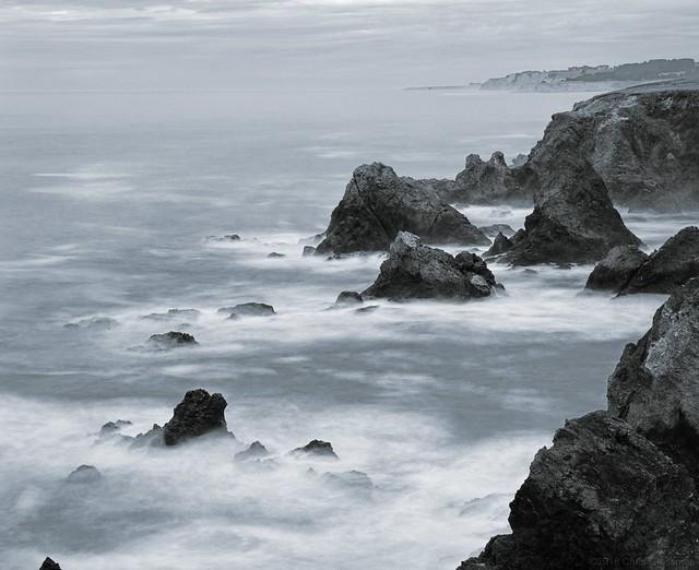 Neutral Density Seascape - Pentax 67II - Super-Takumar/6x7 150mm f/2.8 - Acros