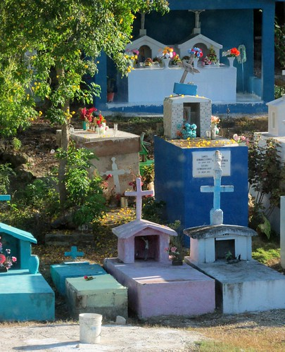 Mayan Cemetery - Day of the Dead