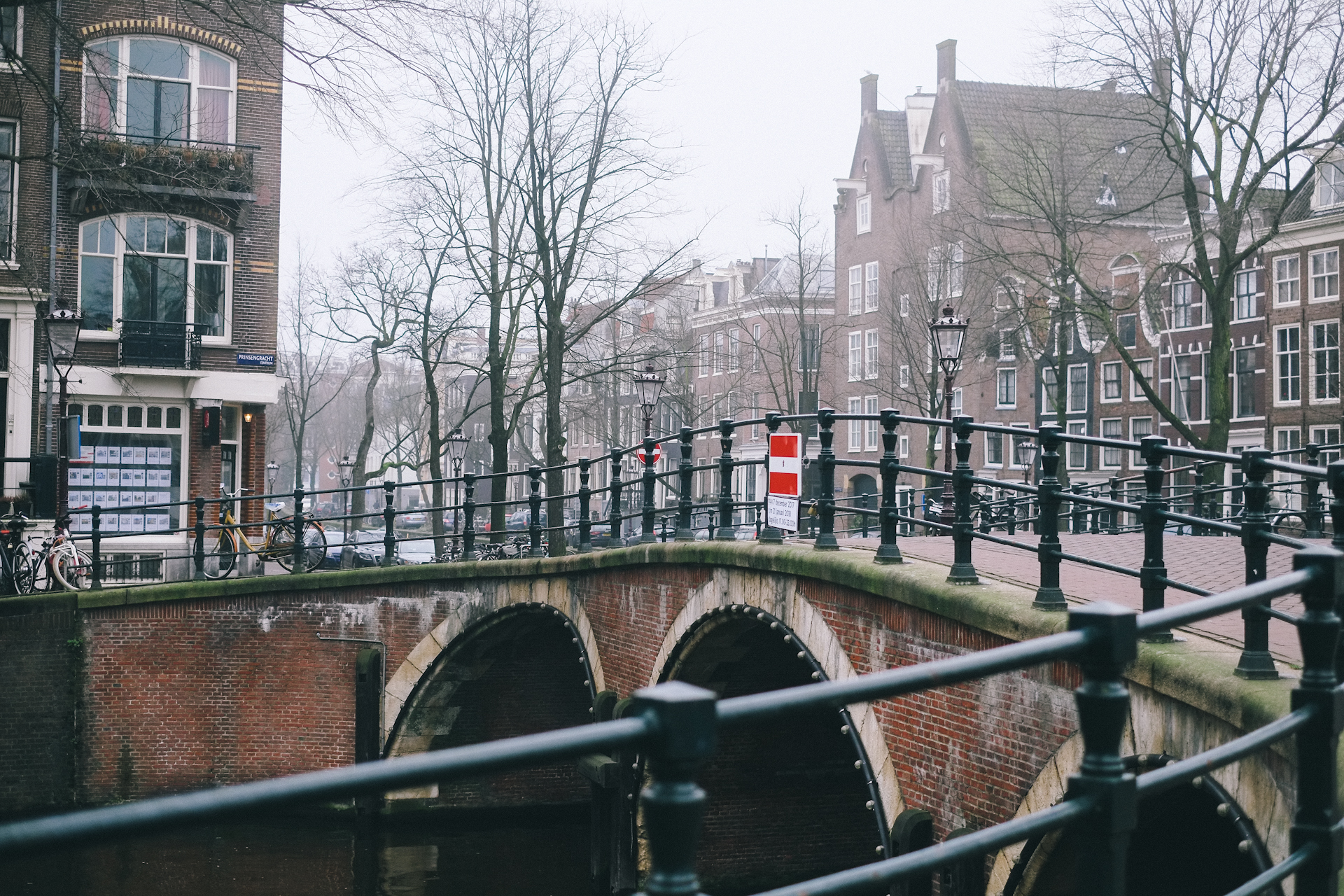 Amsterdam, Winter Day