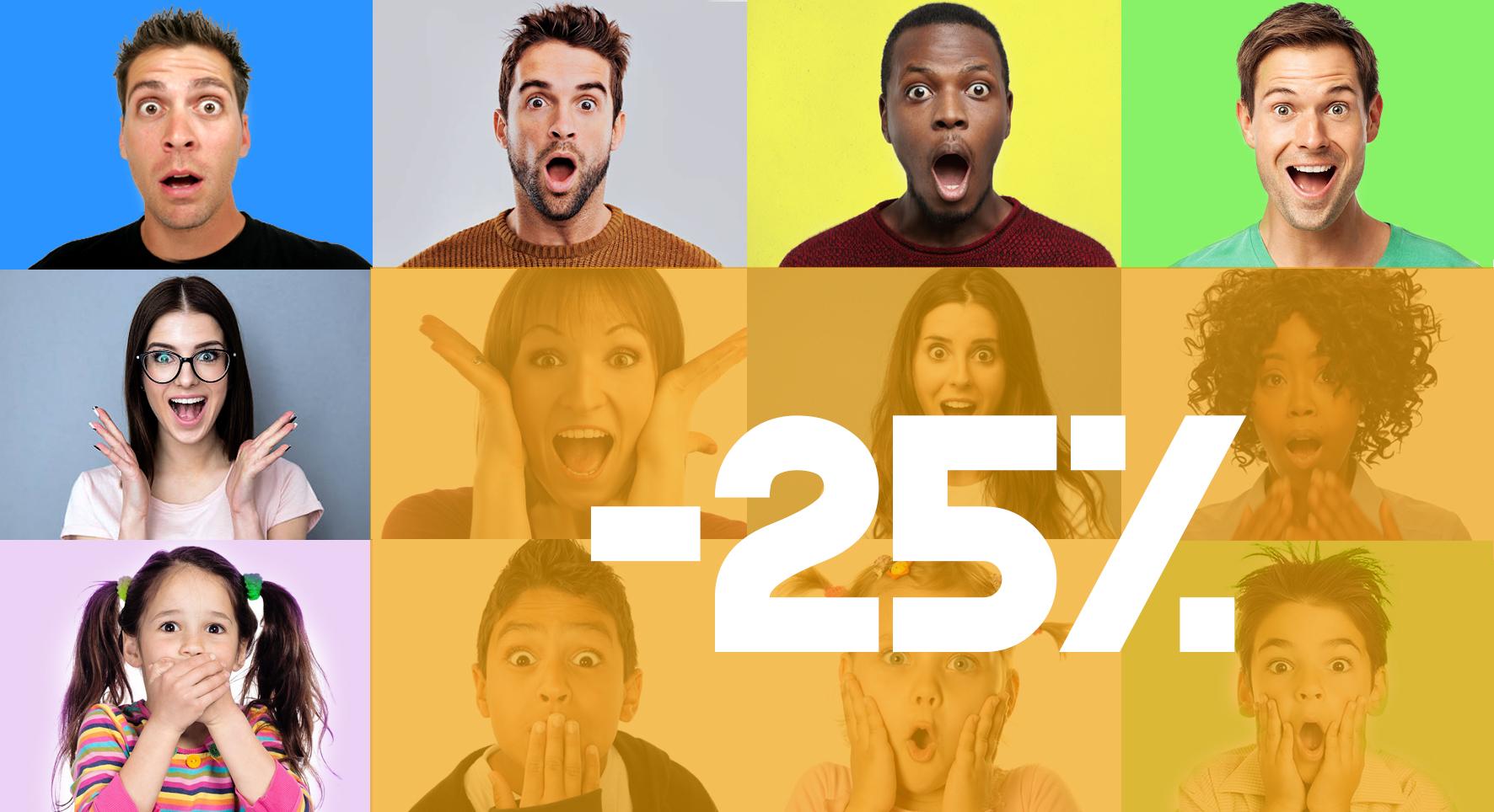 25 off