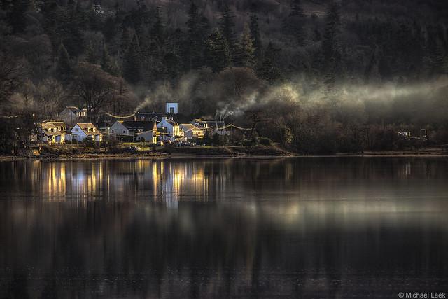 Sunset at Cairndow; Loch Fyne, Argyll & Bute, Scotland