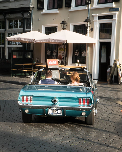Vintage Car in Breda, Netherlands