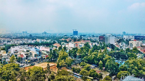#spring or#fall #city #high #view #wide #pano #hcmc #colorful #landscape #snapseed #mobiography #photography #iphonegraphy #iphone