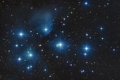 M45 Pleiades with Canon 700Da