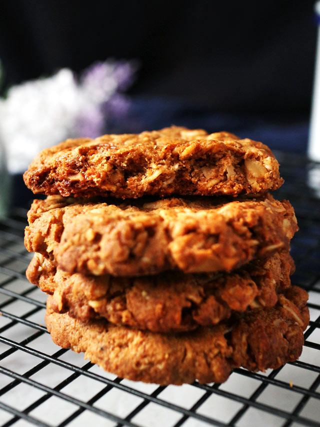 全素椰片花生燕麥餅乾 vegan-coconut-peanut-butter-oatmeal-cookies (6)