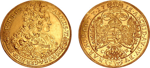 Triton XXI lot 1063 Holy Roman Empire Károly III