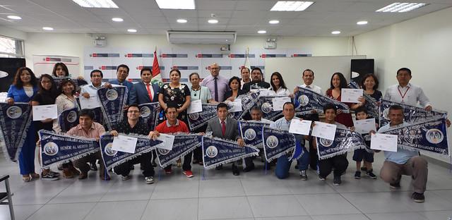 07/02/2018 Drelm reconoció a las escuelas públicas y privadas que destacaron en los Juegos Deportivos Escolares Nacionales