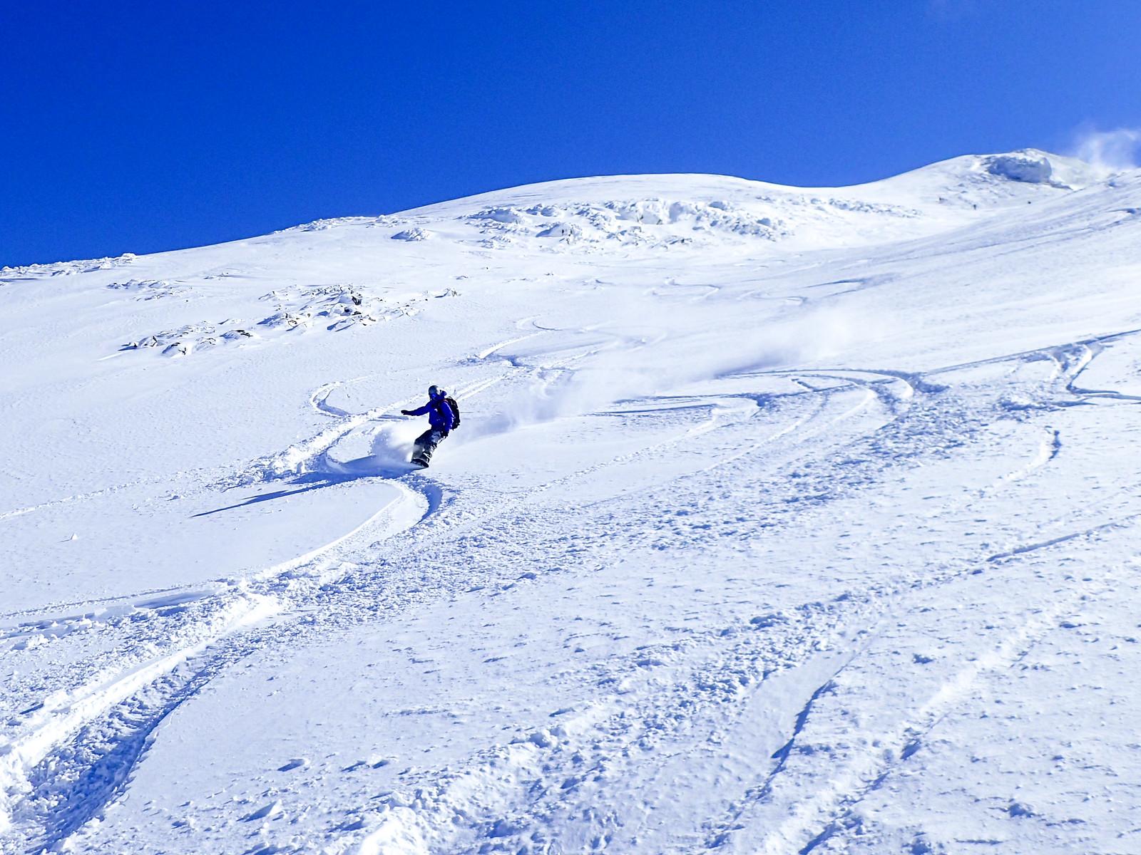 Mt. Maetokachi ski touring (Hokkaido, Japan)