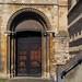 Norman south door, c1150 - Waltham Abbey Church, Essex, England