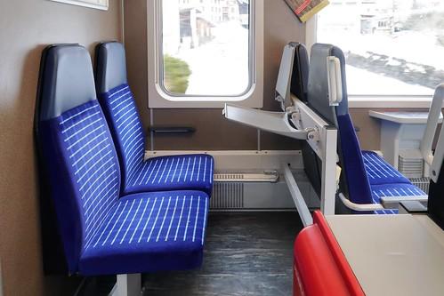 Rhaetian Railway - B 2310 Seating