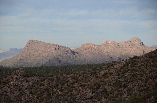 Tucson Gilber Ray Brown Mountain a vew from a hike