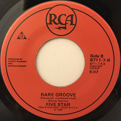 FIVE STAR:SOMEONE'S IN LOVE(LABEL SIDE-B)