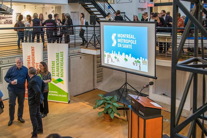 Lancement Montréal Métropole en Santé