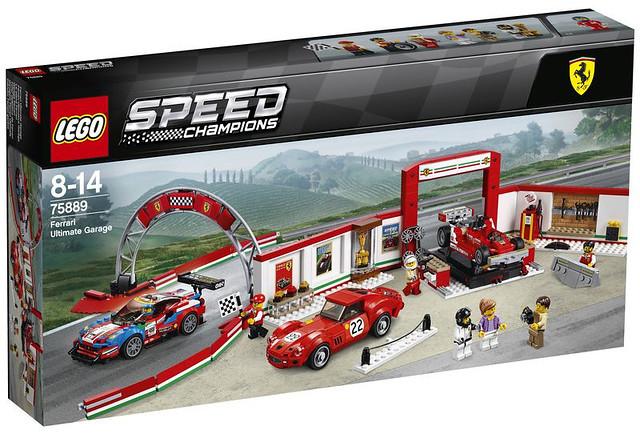 眾多帥氣跑車樂高化!!LEGO 75884~75889 Speed Champions 系列 2018年部分盒組登場!