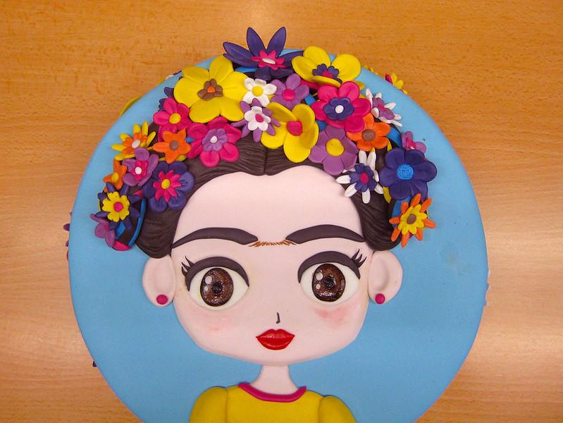Frida Kalo cake