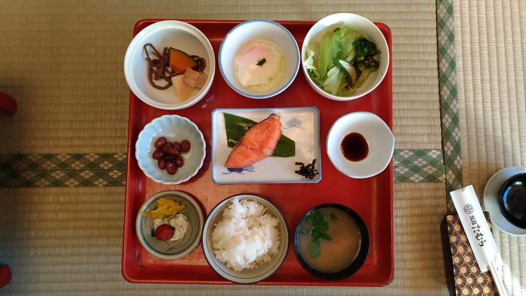 旅館たむらの食事2