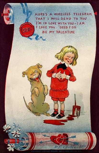 Here's a Wireless Telegram—Be My Valentine