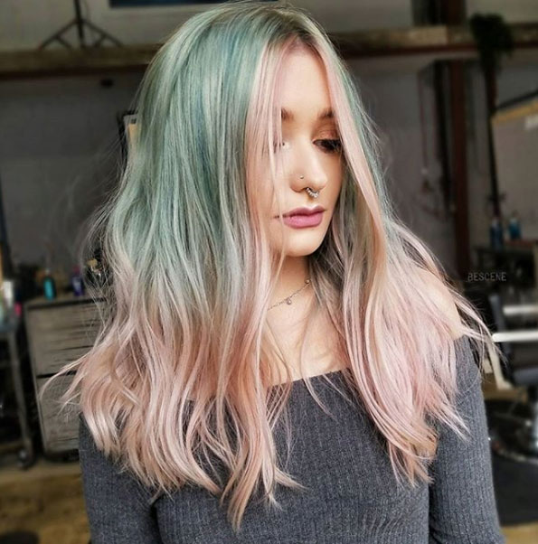 Hair Fashion Trends 2019: New Hair Color Trends For 2018 2019
