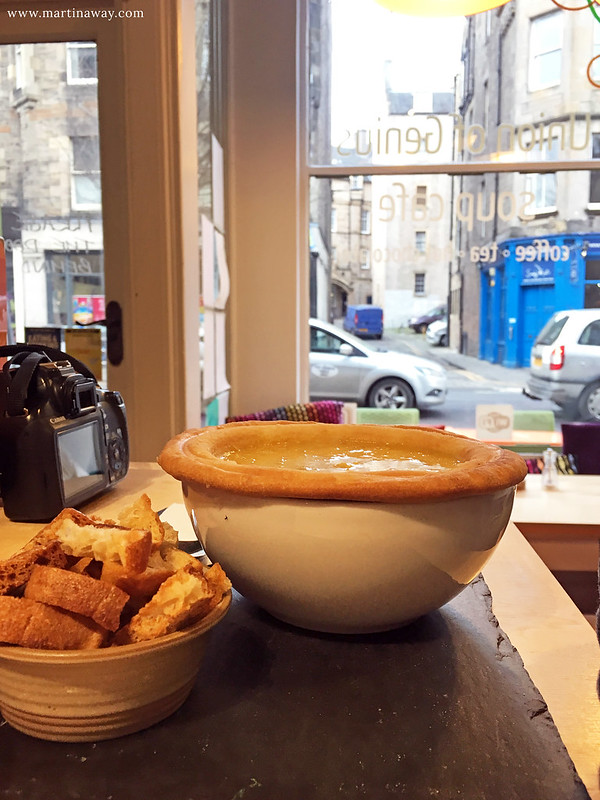 Lunch at Union of Genius: dove mangiare a Edimburgo